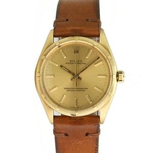 Rolex Oyster Perpetual 1005 14k Yellow Gold